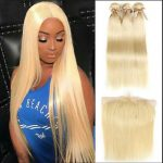 Russian Blonde 613 bundles with 6×6 frontal.