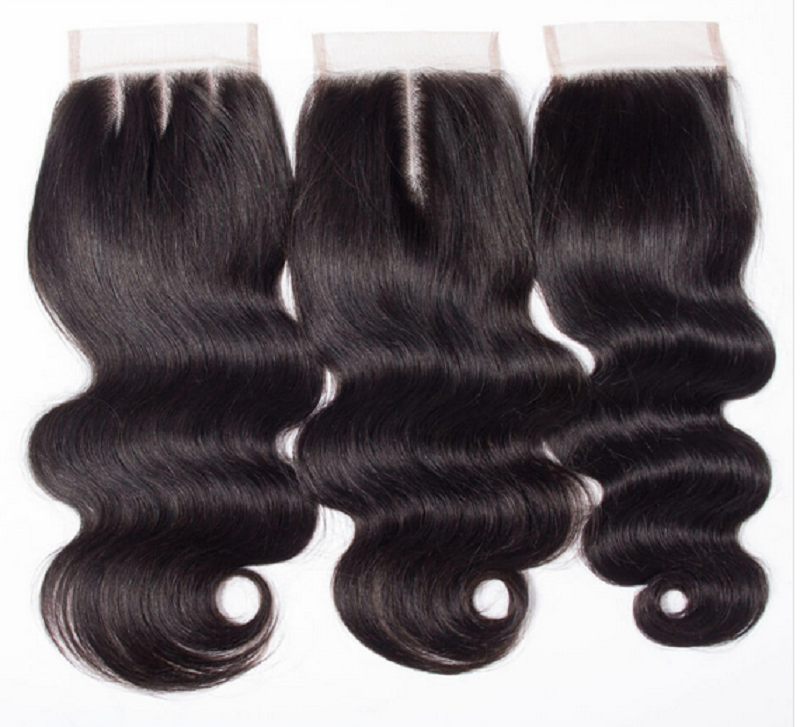 Body wave 4×4 Swiss Lace Frontals